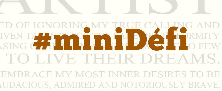 71. Ecrivez votre manifesto de créateur de contenus ! #miniDéfi