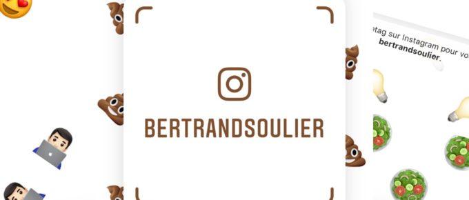 260. Tu me files ton Instagram NameTag !?