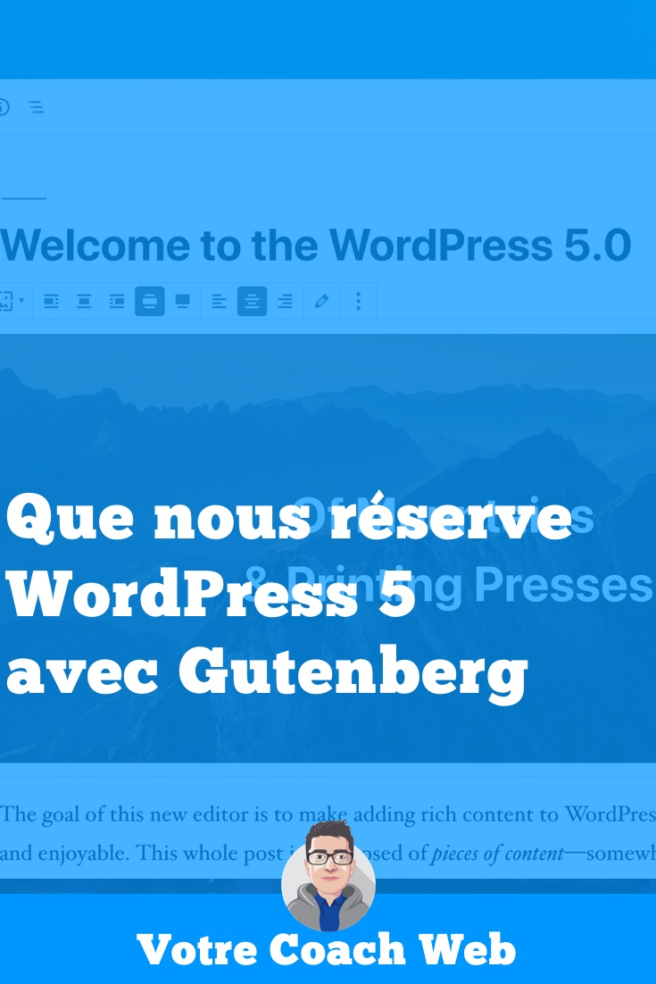 290. Episode spécial (sortie de) WordPress 5 et Gutenberg