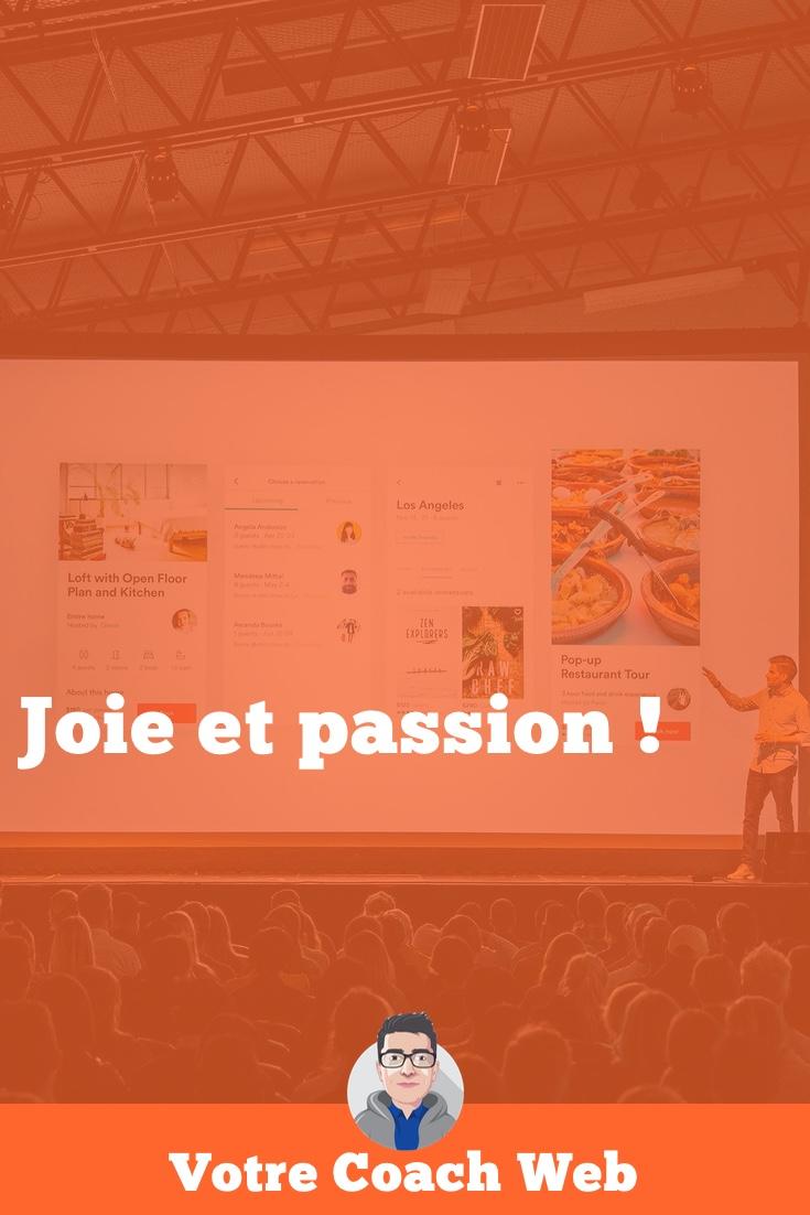 312. Joie et passion !