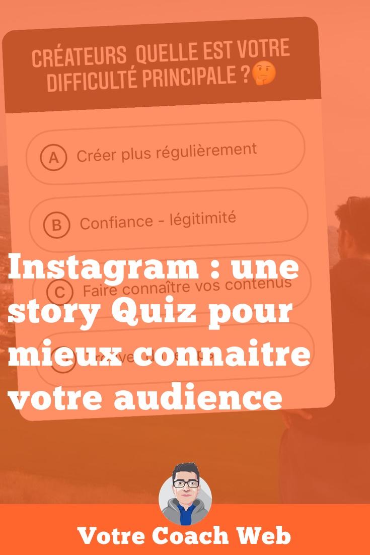353. Instagram : une story Quiz pour mieux connaitre votre audience