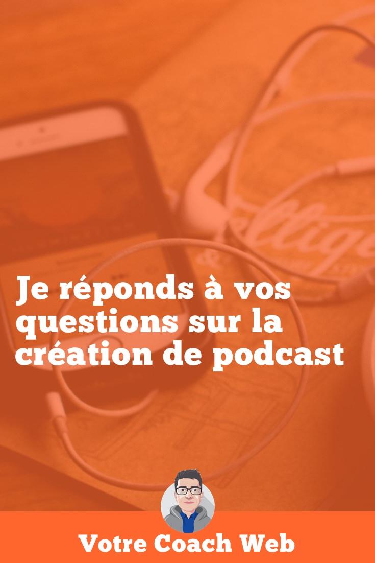 Vos questions sur la création de podcast #AskBertrand