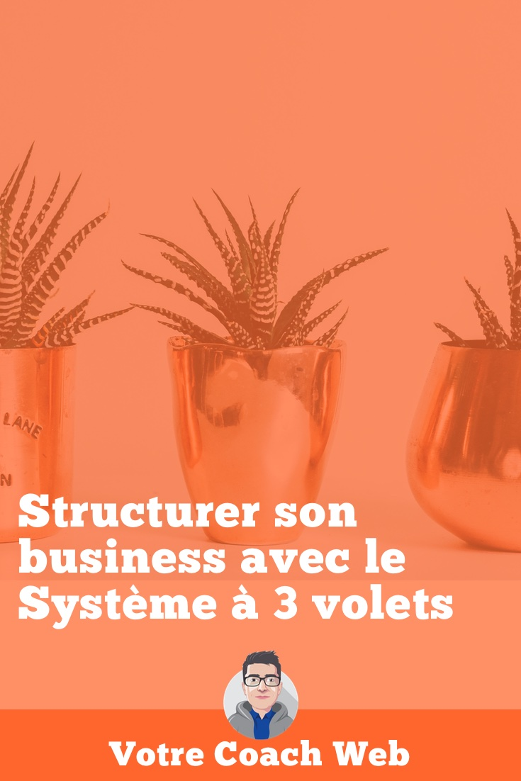 426. Comment structurer son business avec le Système à 3 volets™️