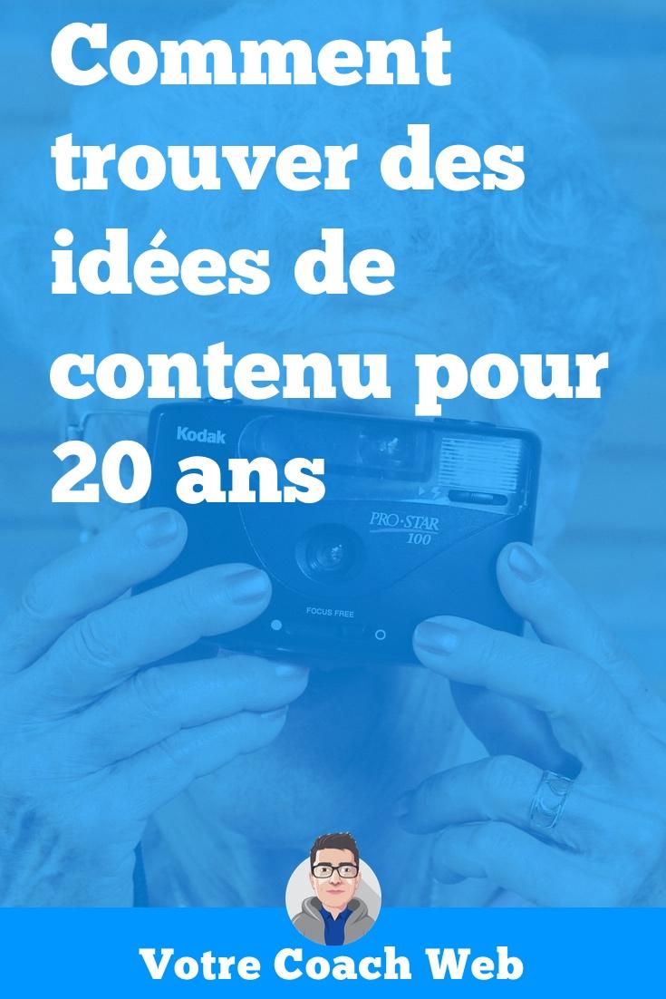 504. Secret de longévité : Comment trouver des idées de contenu pour 20 ans