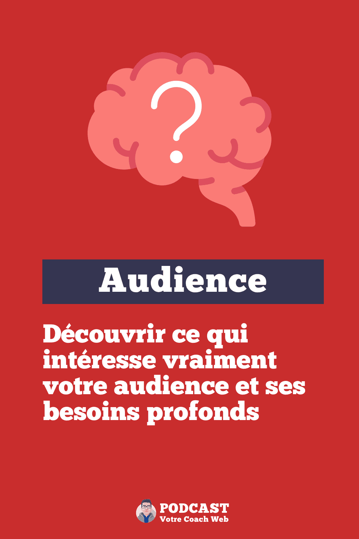 559. Découvrir ce qui intéresse vraiment votre audience et ses besoins profonds